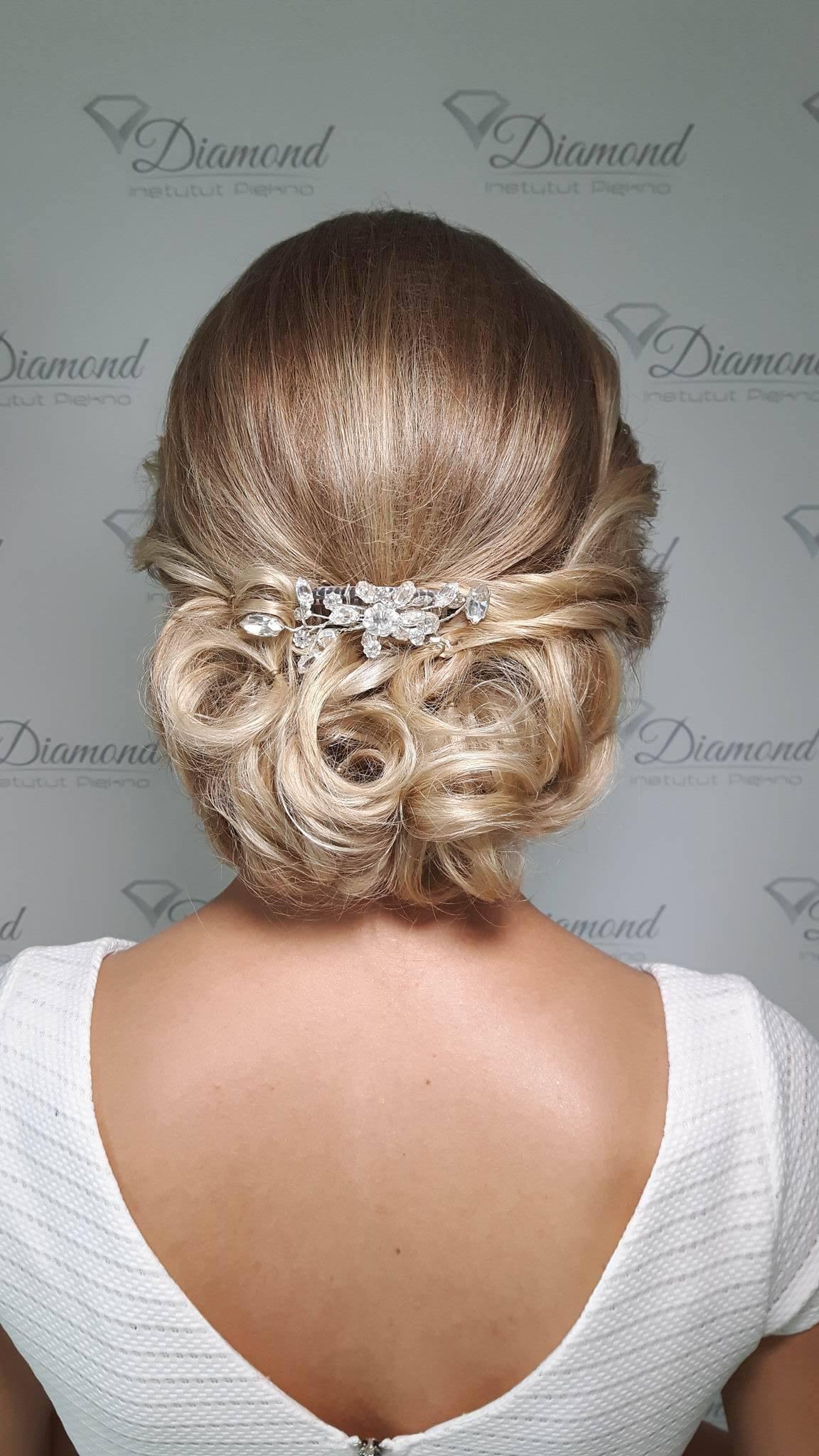 Fryzura ślubna Instytut Piękna Diamond Jedlnia Letnisko Radom