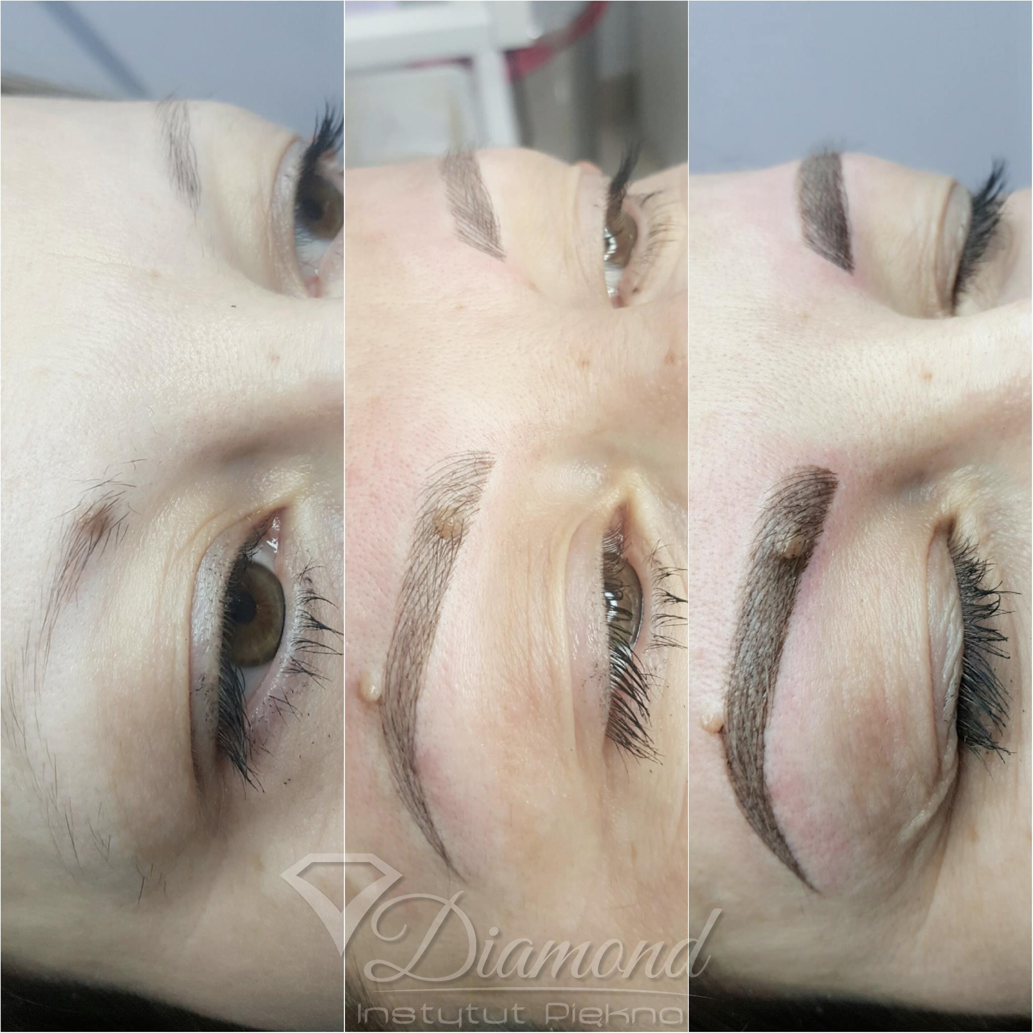 Makijaż Permanentny Brwi Metodą Cienia Instytut Piękna Diamond
