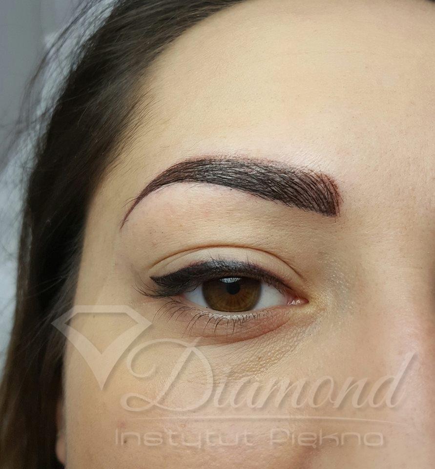 Makijaż Permanentny Brwi W Instytucie Piękna Diamond Jedlnia